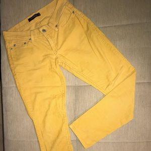 Levi's Too Superlow 524 mustard jeans